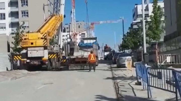 Los vecinos de El Cañaveral viven rodeados por obras que cierran todo el barrio sin previo aviso