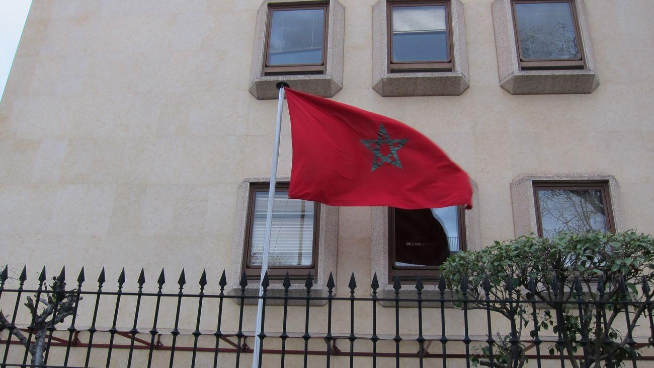 Emabaja de Marruecos en España