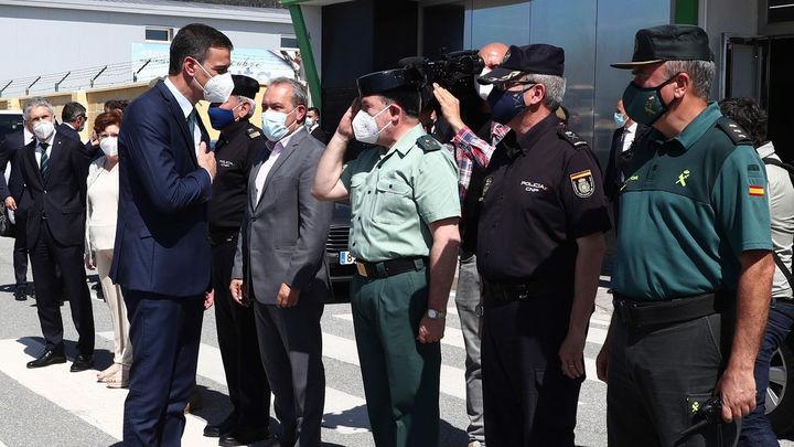 """Ceuta agradece la respuesta del Gobierno y lamenta los """"actos"""" contra la comitiva de Sánchez"""
