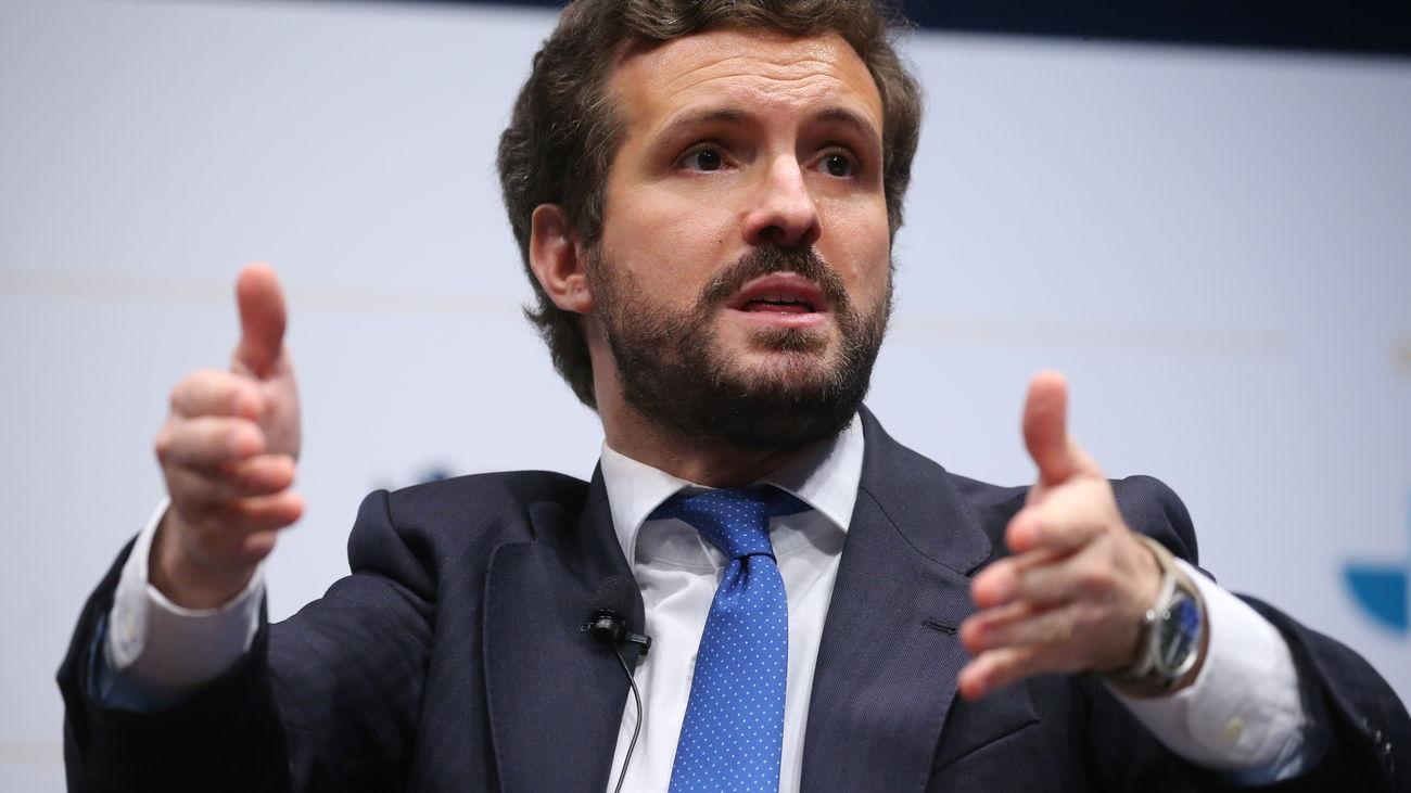 Casado llama a Sánchez para que garantice la integridad territorial en Ceuta