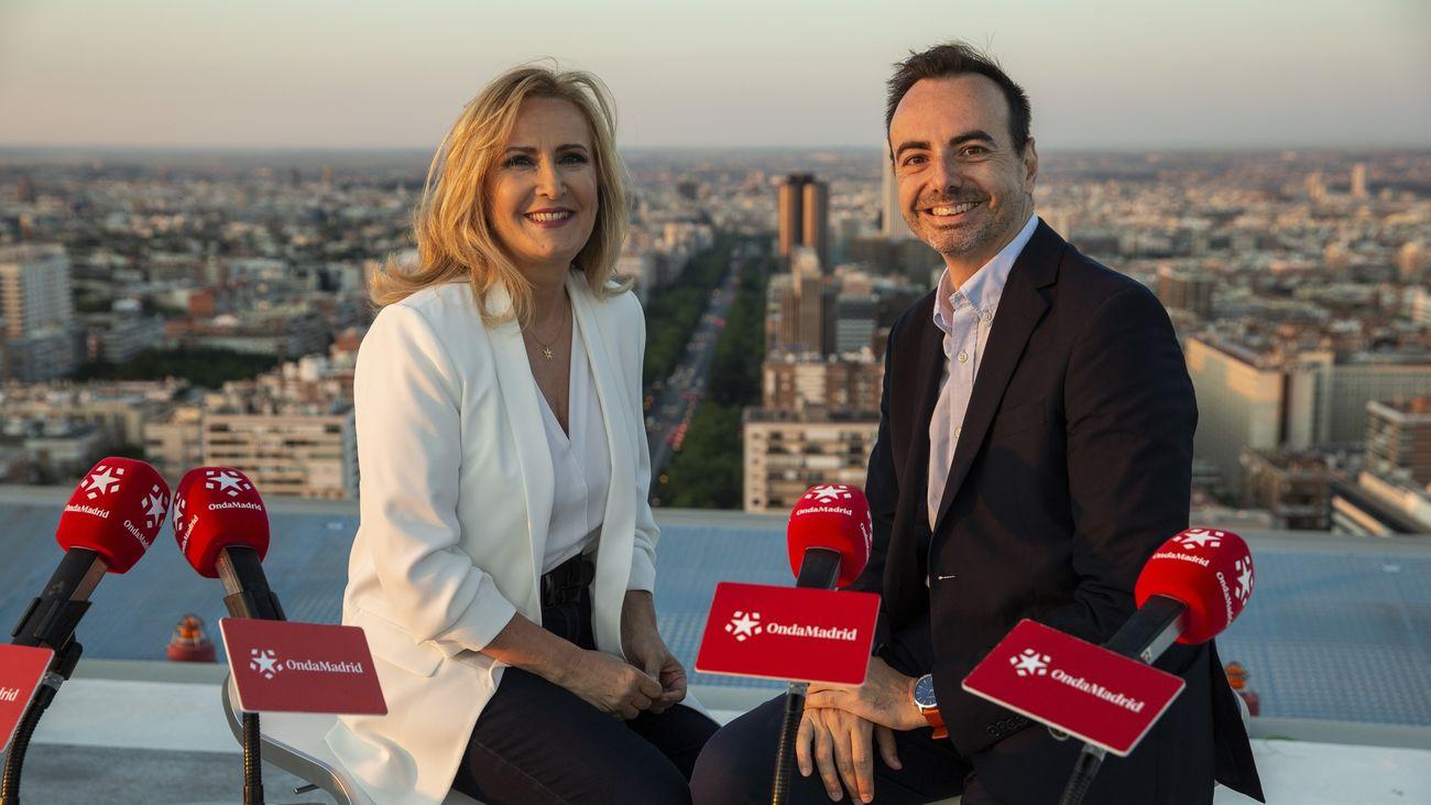 El consejero de Educación, Enrique Ossorio, asiste a la final del concurso 'La Olimpiada del Saber', de Onda Madrid