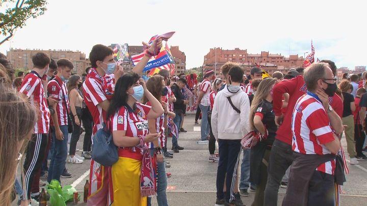 Policía, Valladolid y Atlético coordinan la seguridad de un partido decisivo