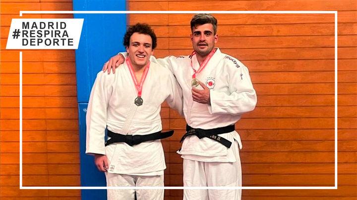 El judoca de Colmenar Marcos Djaschni, oro en el Campeonato Universitario