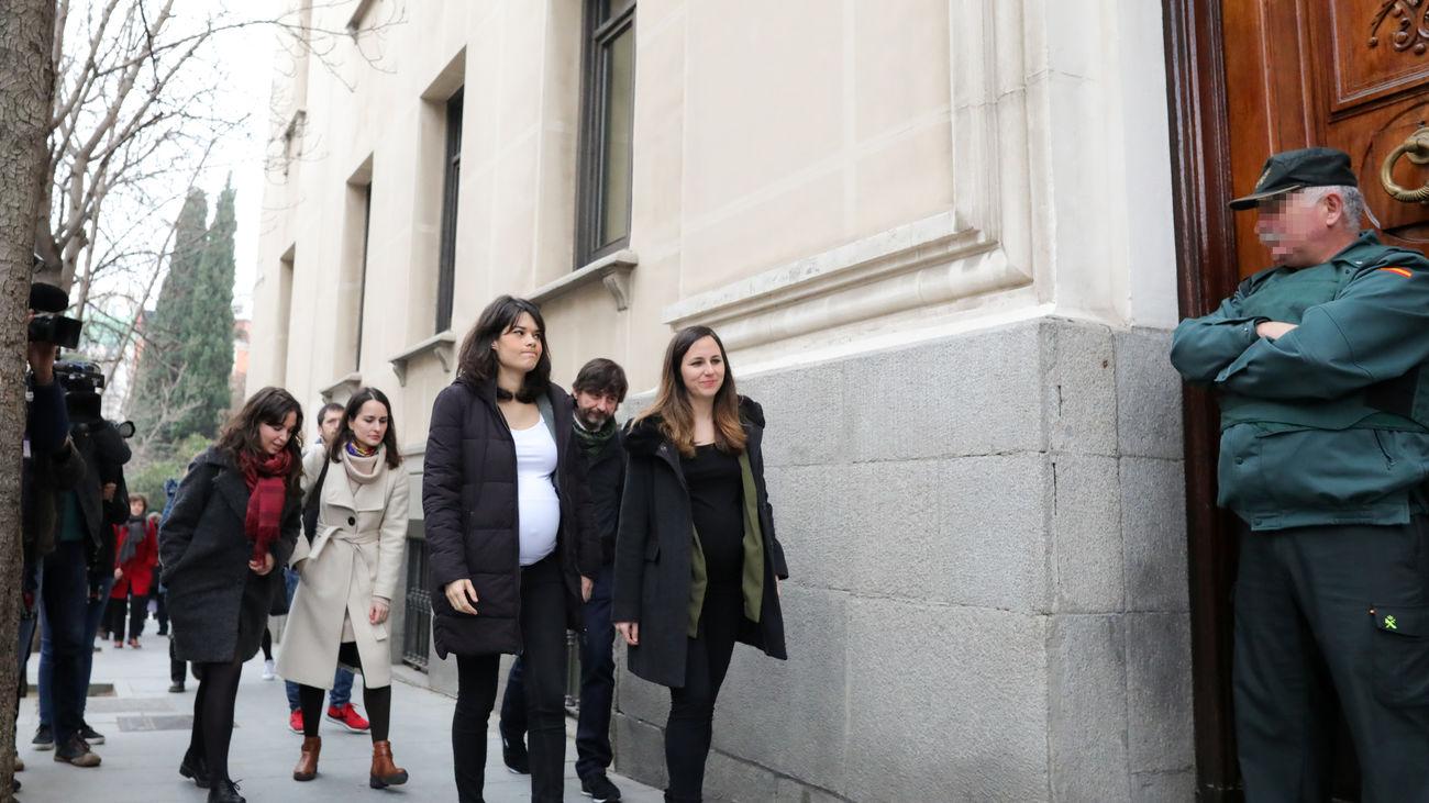 La dirigente de Podemos Isa Serra, pendiente de la decisión del Supremo sobre su condena