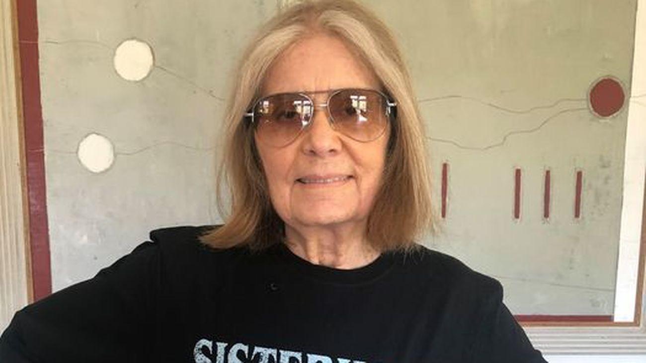 Gloria Steinem en una foto reciente