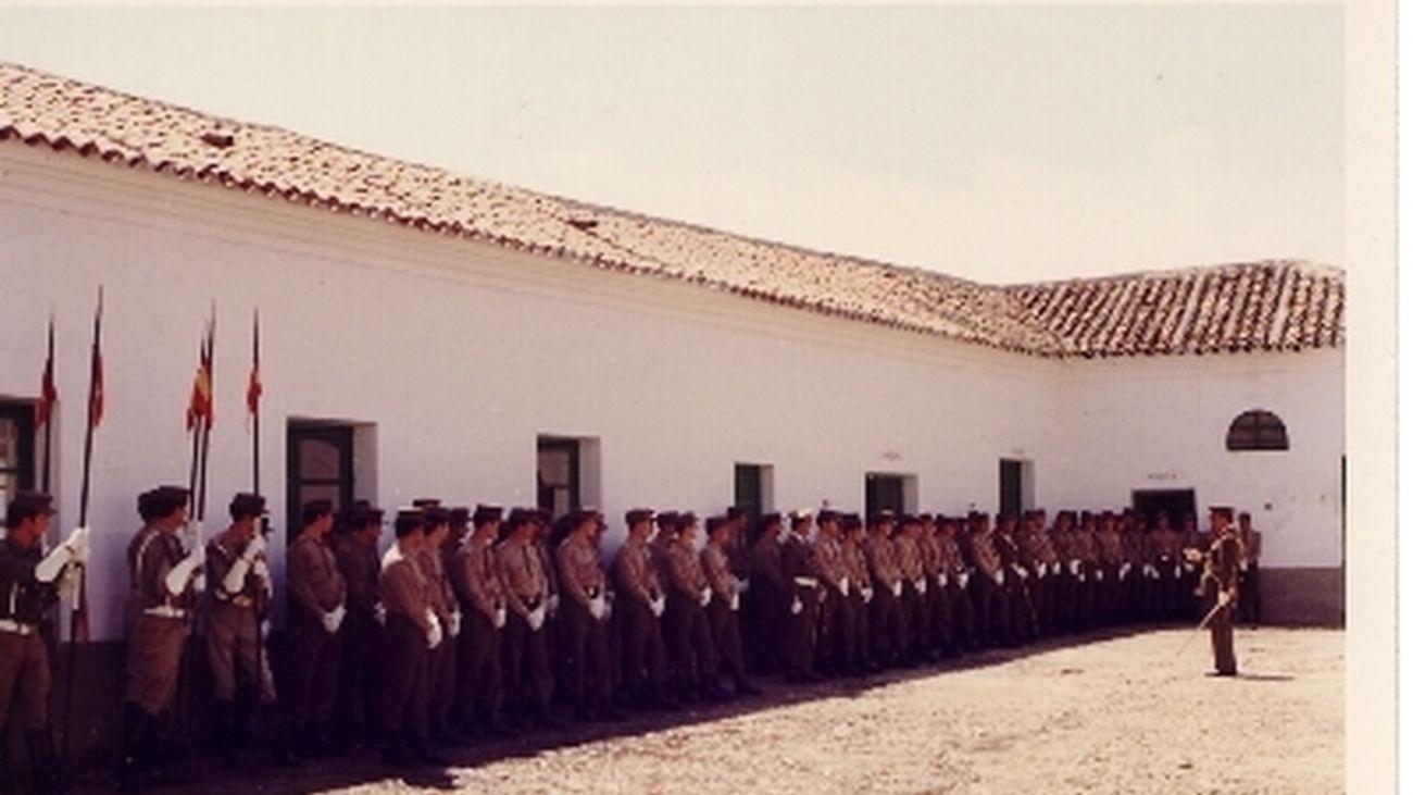 Patio de Herradero del antiguo Cuartel de Sementales