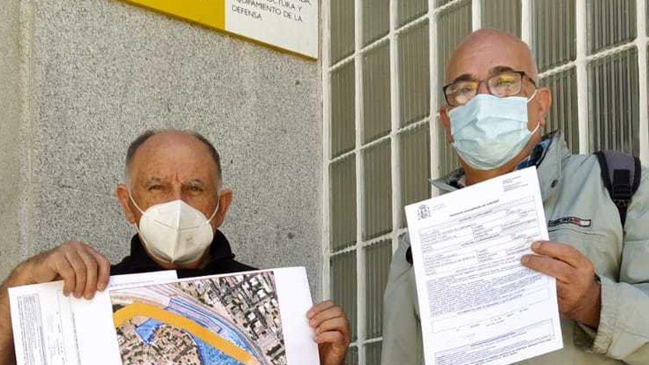 Vecinos de Campamento impugnan ante Defensa y la Comunidad la subasta de suelo de Colonia Jardín