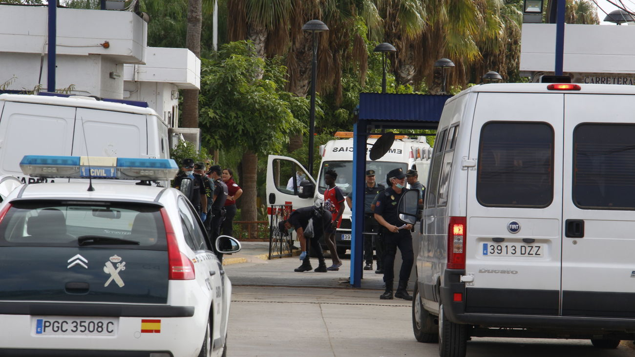 España y Marruecos impiden la entrada de 350  subsaharianos por la frontera de Melilla