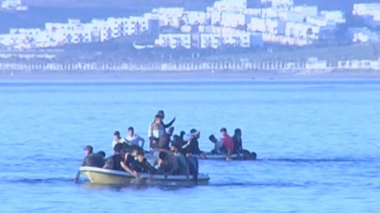 Continúan los intentos de los inmigrantes de entrar en Ceuta