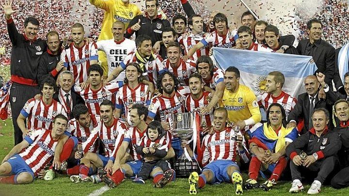 El Atlético ha ganado 9 de sus 10 Ligas en el último partido