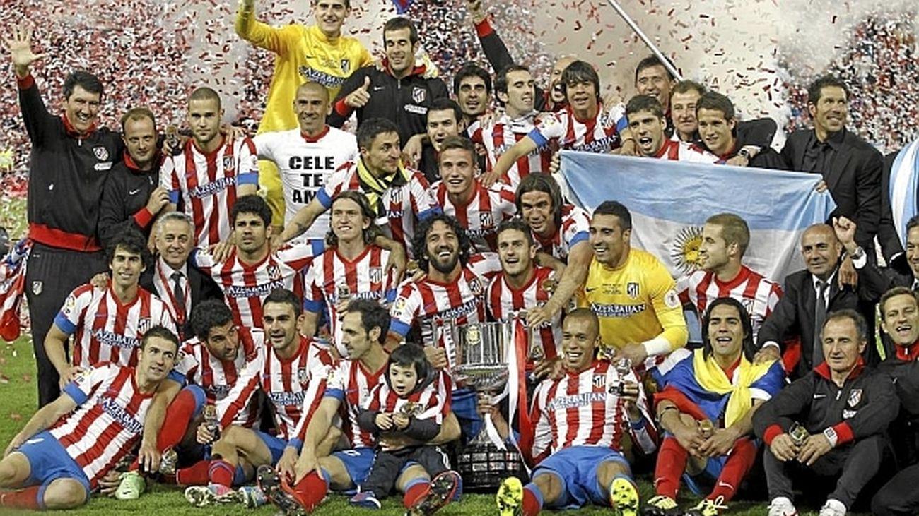 Atlético de Madrid, campeón de Liga en 2014