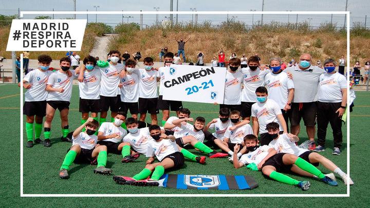 CD Madrid Sur Latina Cadete, un campeón ejemplar