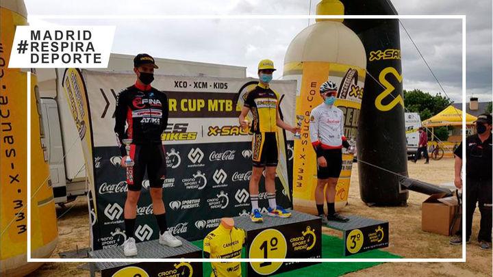 Natividad Gómez y Luca Pérez ganan la Super Cup XCO en Alpedrete