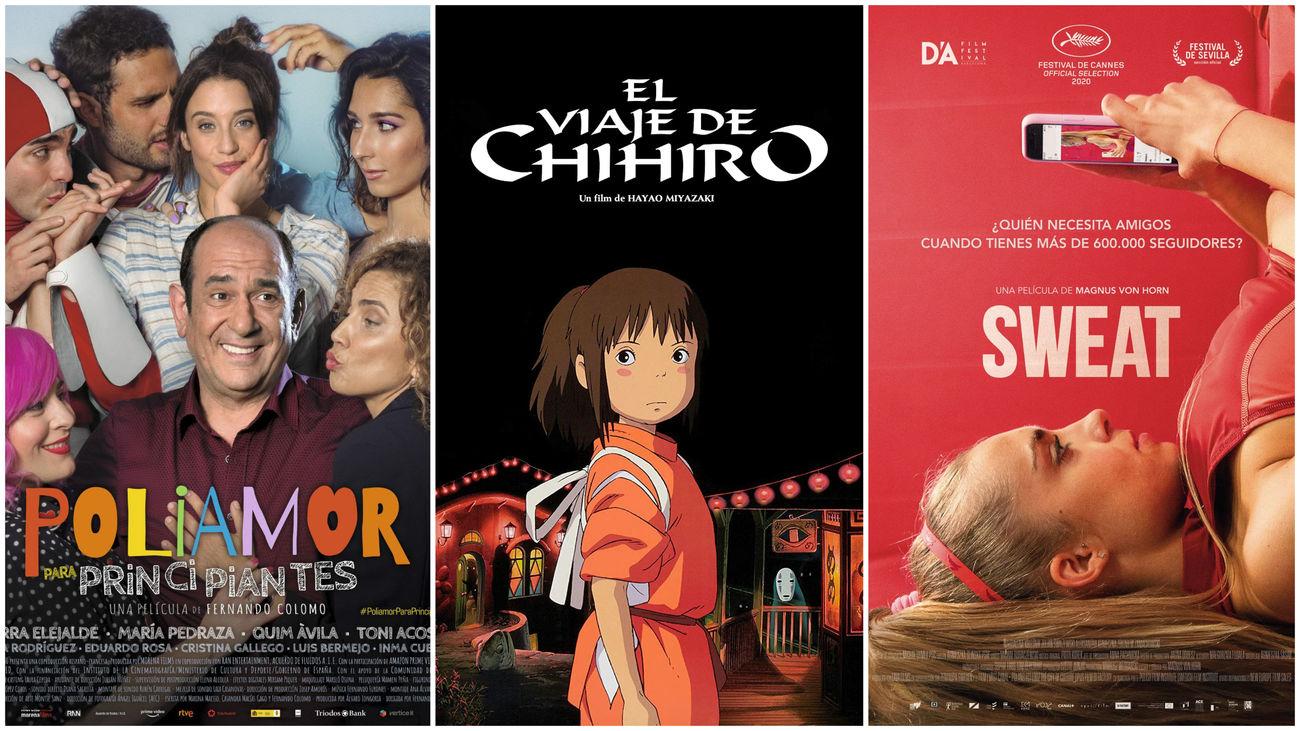 Estrenos de cine... contados de otra manera: re-estrenos, poliamor y una influencer que se siente sola