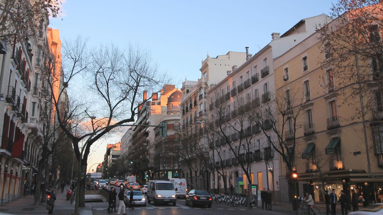 Calle de José Ortega y Gasset en Madrid