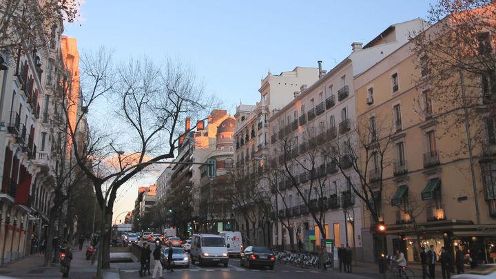 La reforma de la calle Ortega y Gasset entre Castellana y Marqués de Salamanca prevé bancos de granito contra alunizajes