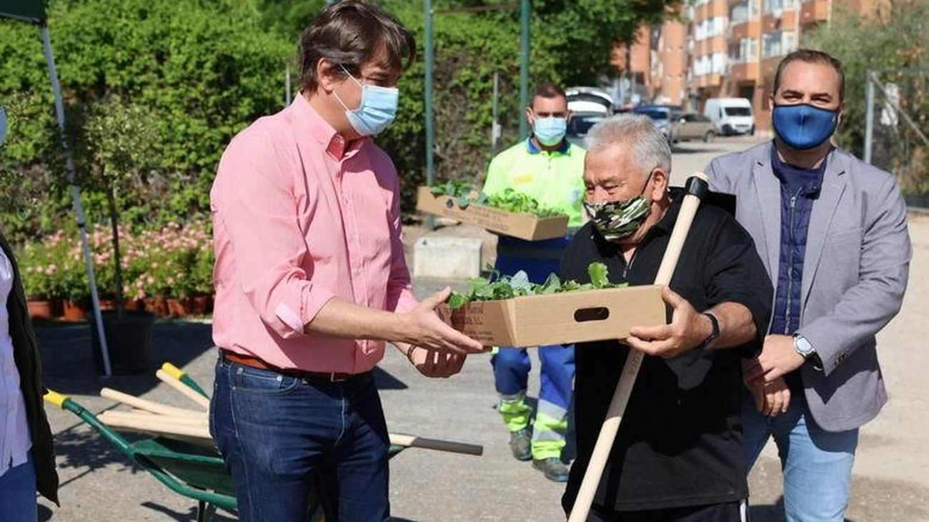 Fuenlabrada reactiva los huertos urbanos municipales para mayores tras la pandemia
