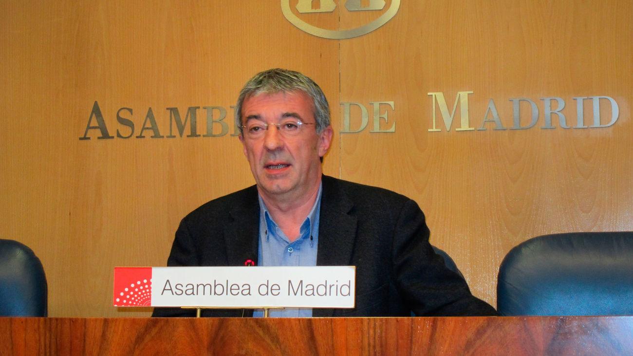 Muere a los 62 años Gregorio Gordo, excoordinador  de IU Comunidad de Madrid