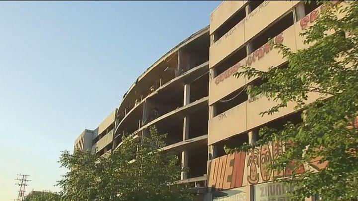 Los vecinos de la Colonia Marconi piden el desmantelamiento del edificio abandonado