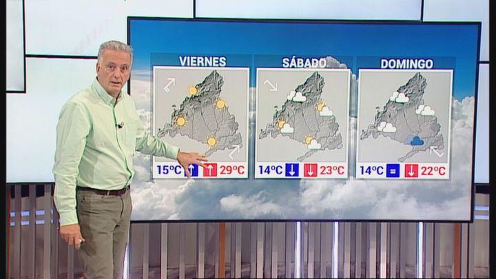 Bajan las temperaturas en Madrid este domingo y más fresquito primaveral