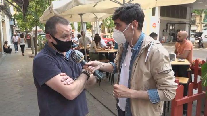 Continúa la guerra en Ponzano entre vecinos y hosteleros por las terrazas