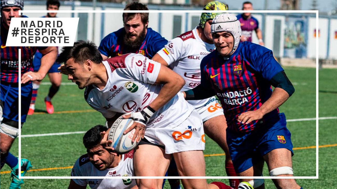 Alcobendas Rugby busca ante el Barça meterse ensu primera final de la Liga