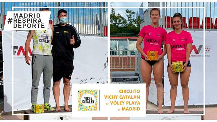Gutiérrez-Ruiz y Fernández-Gómez estrenan con victoria el Circuito de Vóley Playa de Madrid