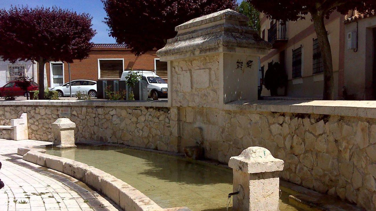 Fuente de La Mariblanca, en Perales de Tajuña