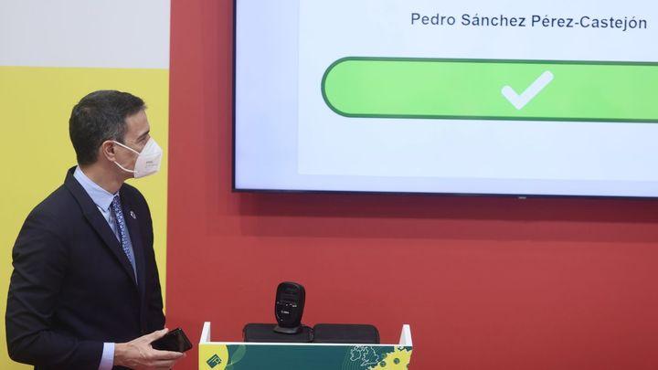 Sánchez presenta en Fitur el certificado digital para poder viajar