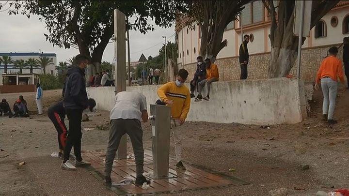 Habilitan un nuevo pabellón para los menores en Ceuta
