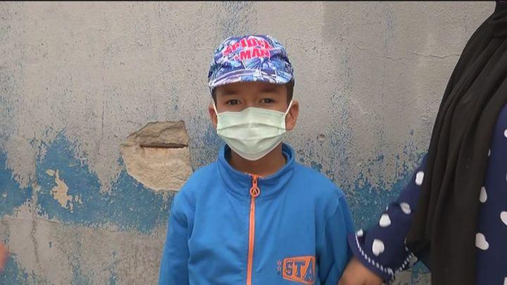 Yusef, el niño de 6 años que llegó a Ceuta nadando
