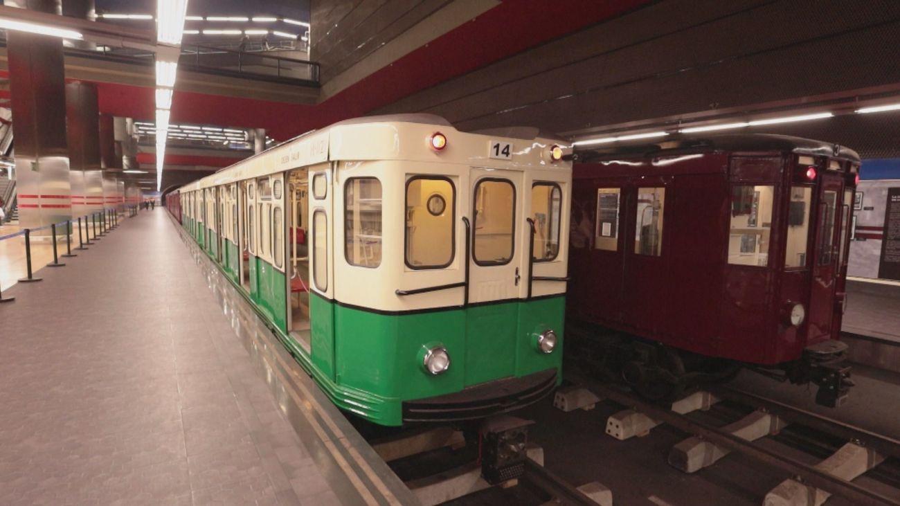 Un viaje al pasado de Metro Madrid