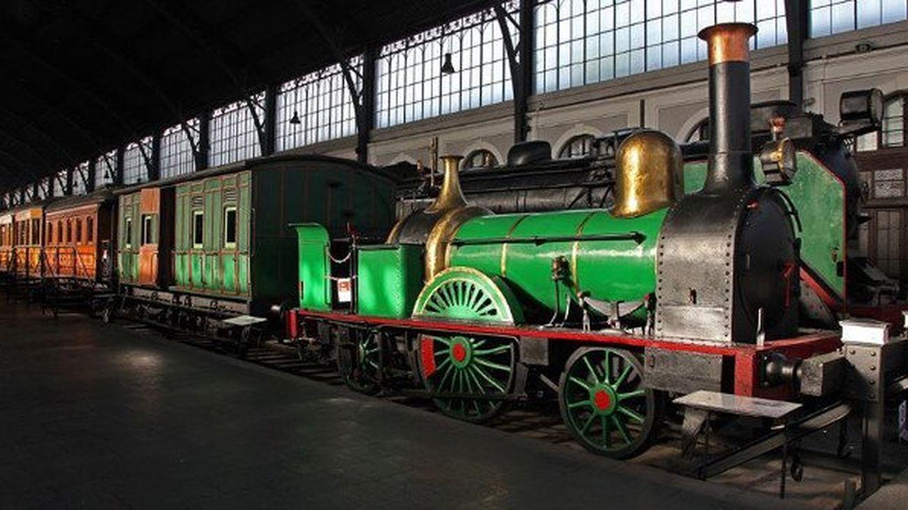 El Museo del Ferrocarril de Madrid