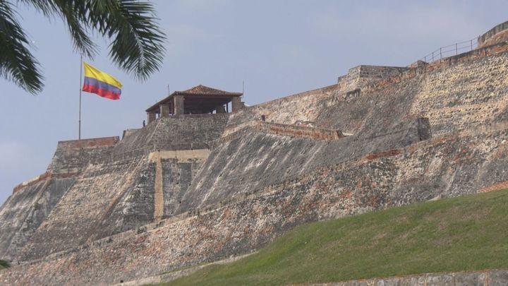 El fuerte de San Felipe de Barajas, una construcción española en Cartagena de Indias