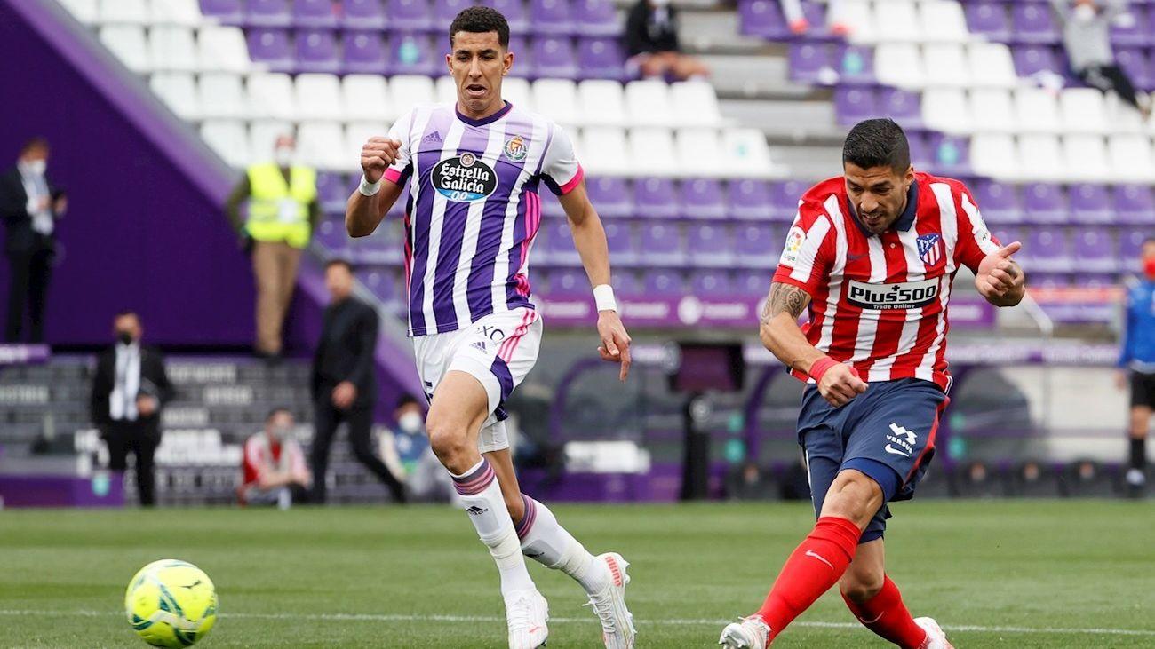 Gol de Luis Suárez al Valladolid