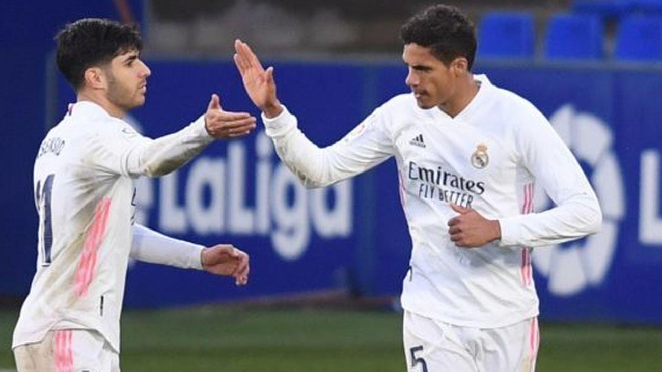 Varane y Asensio