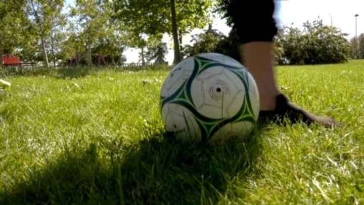 """Dioni de Camela y Gonzalo Miró, """"enfrentados"""" por el fútbol"""
