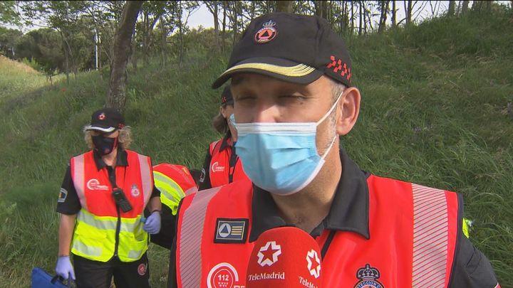 Así entrena el equipo de respuesta inmediata de voluntarios de Protección Civil