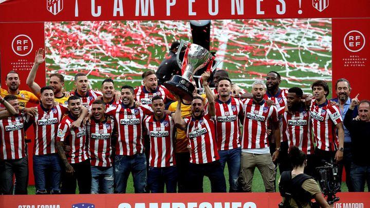 Telemadrid acompaña al Atlético en su gran fiesta de la Liga con un 12,2% de share y hasta medio millón de espectadores