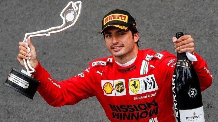 Histórico segundo puesto del madrileño Carlos Sainz en Mónaco