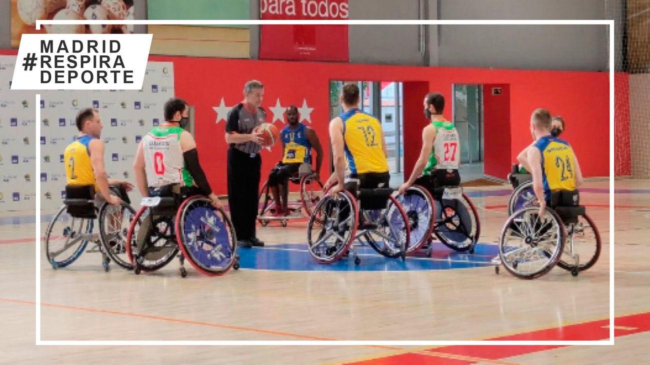Doble victoria del Ilunion para cerrar la liga de baloncesto en silla de ruedas