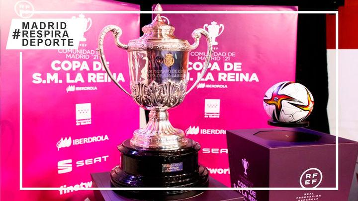Leganés se vuelca con la Copa de la Reina con la presencia del Atleti y Madrid CFF