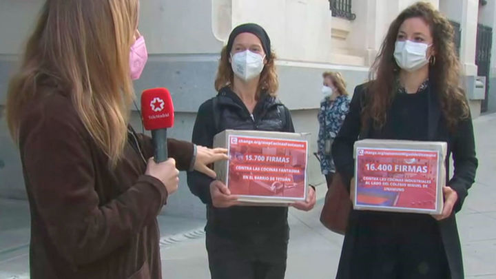 Más de 32.000 firmas contra las 'cocinas fantasma' de Tetuán y Arganzuela