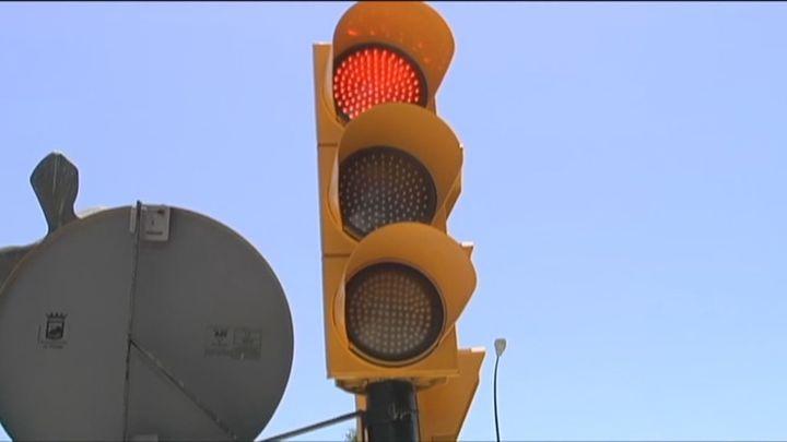 Málaga estudia colocar un semáforo que habla como Chiquito de la Calzada