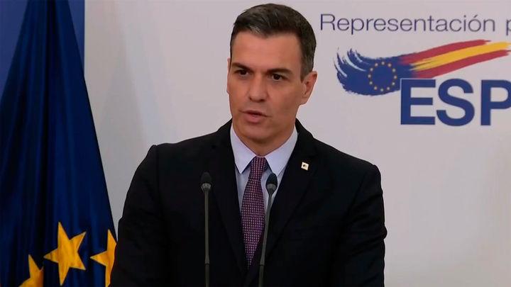 """Sánchez dice que primará el """"entendimiento"""" y no la """"revancha"""" en la decisión sobre los indultos del procés"""