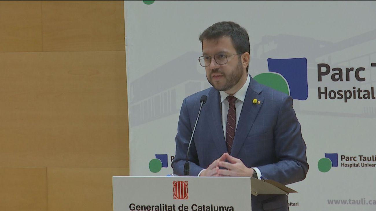 """Aragonès dice que los indultos serán bienvenidos, aunque ve necesaria una """"amnistía"""""""