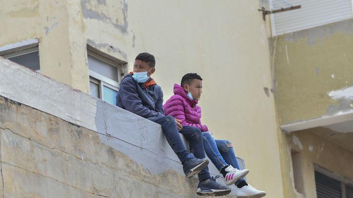Madrid acogerá a 20 de los 200 menores de Ceuta como estaba previsto