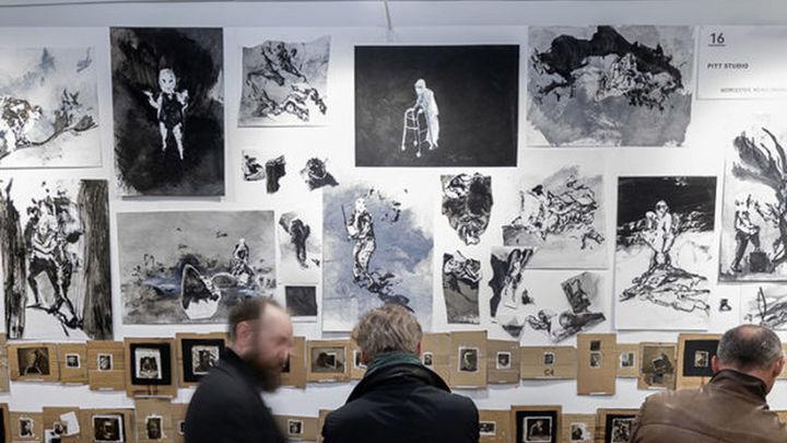Artistas de todo el planeta, en la feria del dibujo Drawing Room Madrid