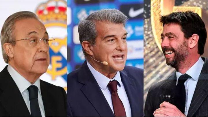La justicia ordena a la UEFA archivar el expediente a Real Madrid, Barça y Juventus