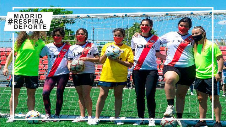 Nace el Rayo Vallecano DCA, el primer equipo femenino con futbolistas con diversidad funcional